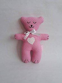 Darčeky pre svadobčanov - Darčeky pre malých svadobčanov - mackovia (Ružová) - 10904734_