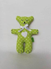 Darčeky pre svadobčanov - Darčeky pre malých svadobčanov - mackovia (Zelená) - 10905375_