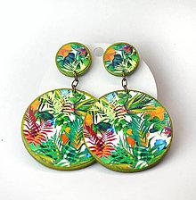 Náušnice - Náušnice Tropic - 10904326_