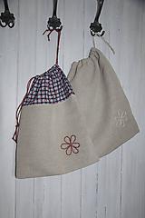 Úžitkový textil - Vrecká na bylinky, chlebík - 10905504_