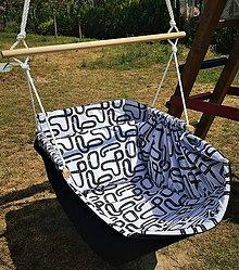 Úžitkový textil - Hojdavak - hojdačka, hačka - 10906201_