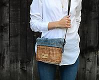 Kabelky - Prútená kabelka na rameno N°3 - 10905313_