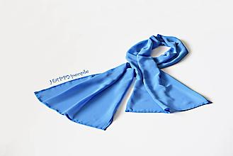 Šatky - Modrá šatka - 10904506_