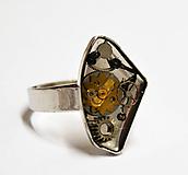 Prstene - Prsteň rhodiovaný - 10903790_