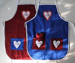 Iné oblečenie - Zástery pre mladomanželov - 10904085_