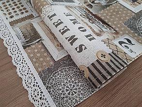 Úžitkový textil - Obrus Home - 10906387_
