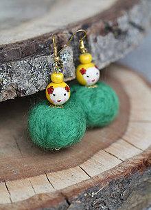 Náušnice - Náušnice - Cute Dolls Suzi - 10908196_