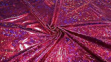 Textil - Šatovka - Disko - cena za 10 centimetrov (Ružová) - 10906953_