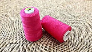 Galantéria - Polyesterová niť Hard - 5000 (Ružová) - 10908318_