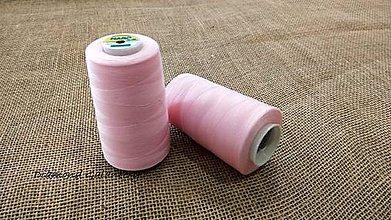 Galantéria - Polyesterová niť Hard - 5000 (Ružová) - 10908322_