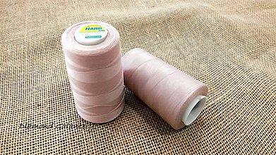 Galantéria - Polyesterová niť Hard - 5000 (Ružová) - 10908323_