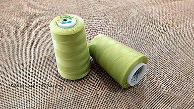 Galantéria - Polyesterová niť Hard - 5000 (Zelená) - 10908326_