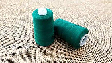 Galantéria - Polyesterová niť Hard - 5000 (Zelená) - 10908328_