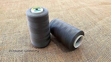 Galantéria - Polyesterová niť Hard - 5000 (Šedá) - 10908329_