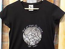 Tričká - Dámske tričko - Wanderer - 10907592_