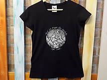 Dámske tričko - Wanderer