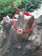 Náramky - Náramok  kvetninka  2 - 10906787_