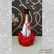 Drobnosti - Gratulačná fľaša k promóciám - 10907792_
