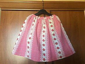 Detské oblečenie - Detské sukničky - 10908052_