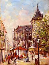 Obrazy - Urbanova veža v Košiciach - 10907570_