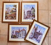 Obrazy - Urbanova veža v Košiciach - 10907574_
