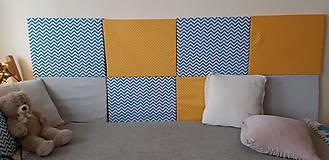 Úžitkový textil - Čalúnený panel - 10907068_