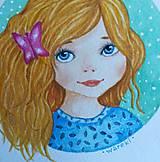 Obrazy - Daniela / Originál ilustrácia - 10908004_