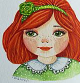 Kresby - Lotta / Originál ilustrácia - 10908103_