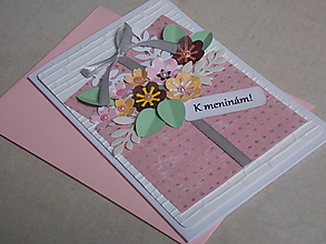 Papiernictvo - ...pohľadnica meninová