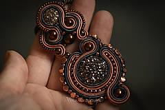 Náhrdelníky - Šujtášový náhrdelník Art deco - 10906386_