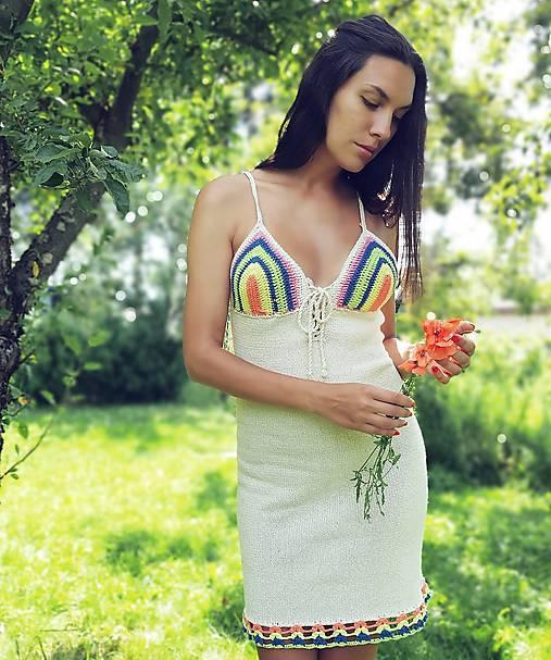 Letné veselé šatičky Jasmin
