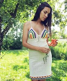 Šaty - Výpredaj -letné veselé šatičky - 10907912_