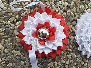 Dekorácie - Kanzashi kvety - dekorácia. - 10907951_