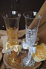 Nádoby - Svadobné poháre - 10908724_