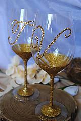 Nádoby - Svadobné poháre - 10909127_