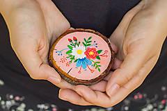 Obrazy - Mini obrázek - v růžové - 10909422_
