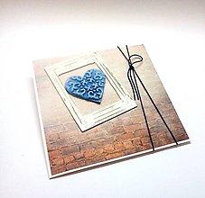 Papiernictvo - Pohľadnica ... okno k srdcu - 10910182_