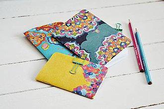 Papiernictvo - 3 zápisníky - ornament/mandala - 10908527_