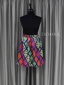 Sukne - Dámska pestrofarebná sukňa. - 10909881_