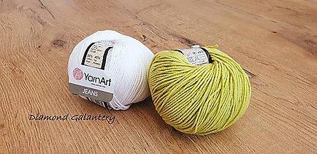 Galantéria - Yarn Art - Jeans (29 Svetlá olivová) - 10911071_