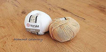 Galantéria - Yarn Art - Jeans (07 Béžová) - 10911073_