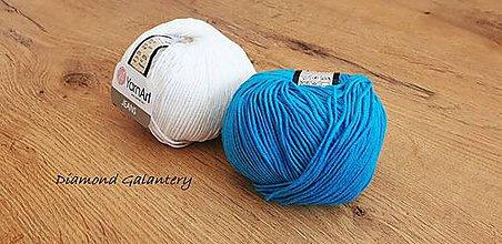 Galantéria - Yarn Art - Jeans (55 Modrá) - 10911088_