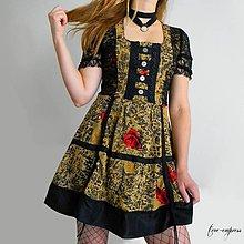 Šaty - Steampunk šaty - 10908640_