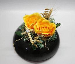 Dekorácie - Žlté ruže - 10909409_