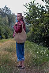 Veľké tašky - kožená_na rameno - 10910869_