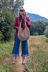 Veľké tašky - kožená_na rameno - 10910870_