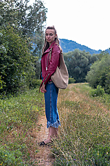 Veľké tašky - kožená_na rameno - 10910871_