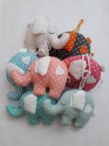 Hračky - Darčeky pre malých svadobčanov - sloníky - 10910558_