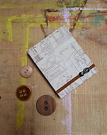Papiernictvo - Machines - mini reportérsky zápisník - 10910710_