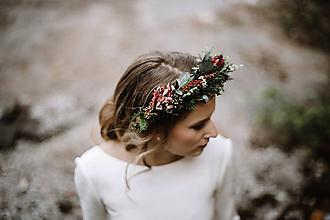 Ozdoby do vlasov - Venček Kate - 10910123_